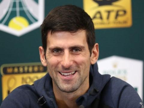 Novak Djokovic reacts to replacing Rafael Nadal as world number one