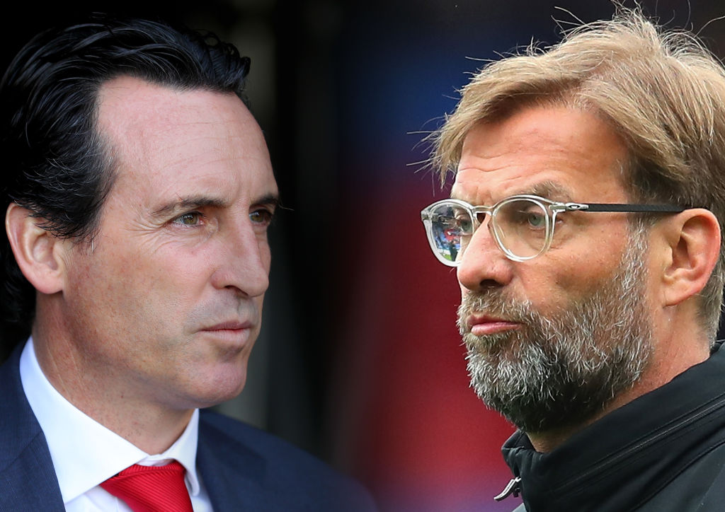 Unai Emery chooses his Arsenal goalkeeper for Liverpool showdown