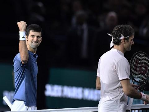 Novak Djokovic speaks out after beating Roger Federer in Paris Masters semi-final