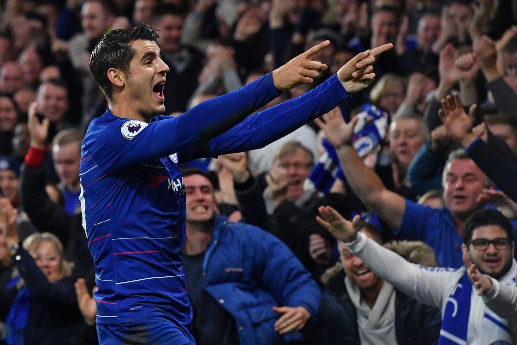 Maurizio Sarri insists Chelsea striker Alvaro Morata must continue to improve