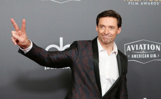 Hugh Jackman who is heading out on a world tour in 2019