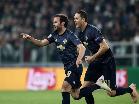 Manchester United secure stunning Champions League victory against Juventus