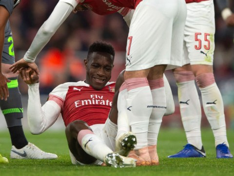 Arsenal star Danny Welbeck undergoes second surgery on broken ankle