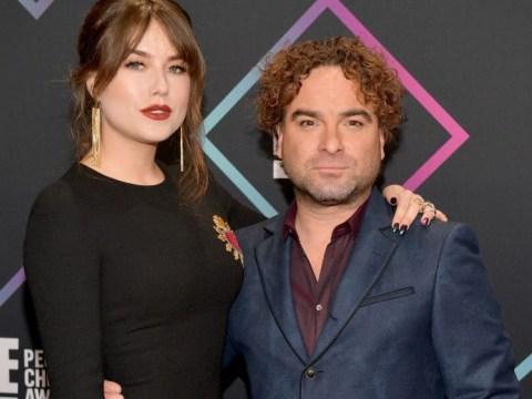 The Big Bang Theory star Johnny Galecki hasn't secretly married girlfriend Alaina Meyer so we can all calm down
