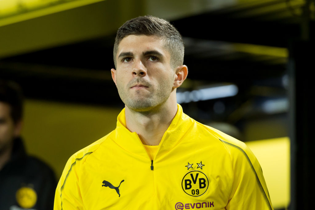 Borussia Dortmund send message to Chelsea over Christian Pulisic transfer