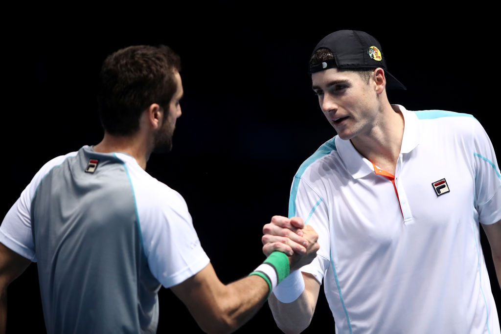 Marin Cilic praises emotional John Isner for ATP Finals display after former housemate's death
