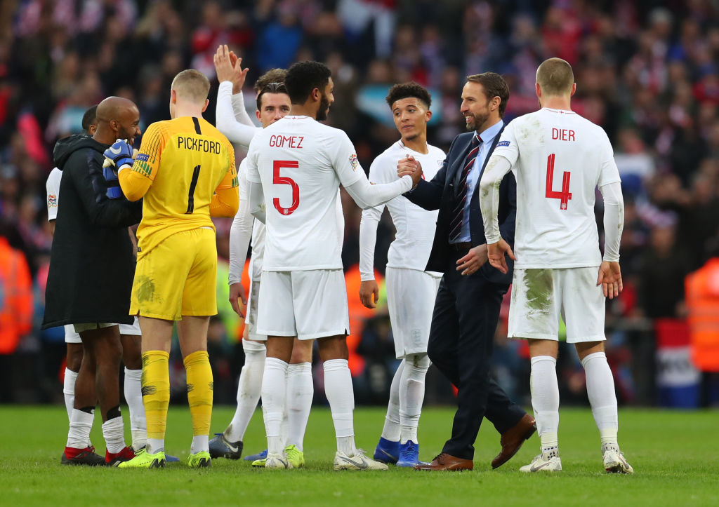 Liverpool fans hail throw-in coach after England score from a long throw in Croatia win