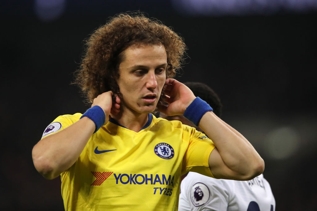 David Luiz directly responds to criticism on Instagram after Tottenham horror show