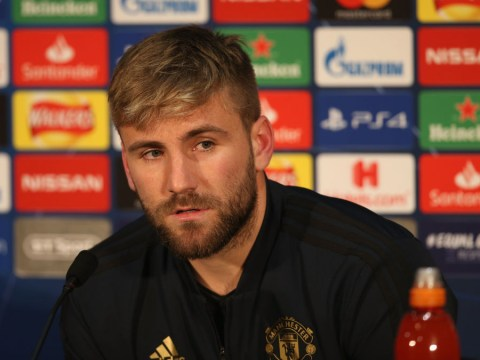 Luke Shaw plays down criticism from Manchester United manager Jose Mourinho over his 'lack of maturity'
