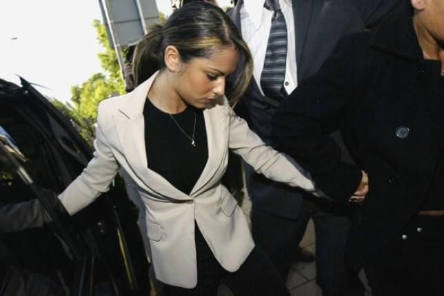 Cheryl in court