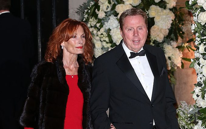 Harry and Sandra Redknapp