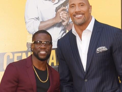 Dwayne Johnson wants to kill Kevin Hart in Jumanji sequel over award win
