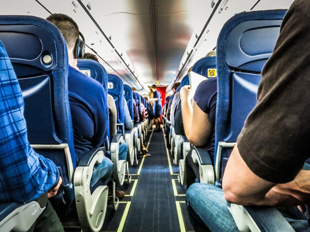 These are the dirtiest places on a plane