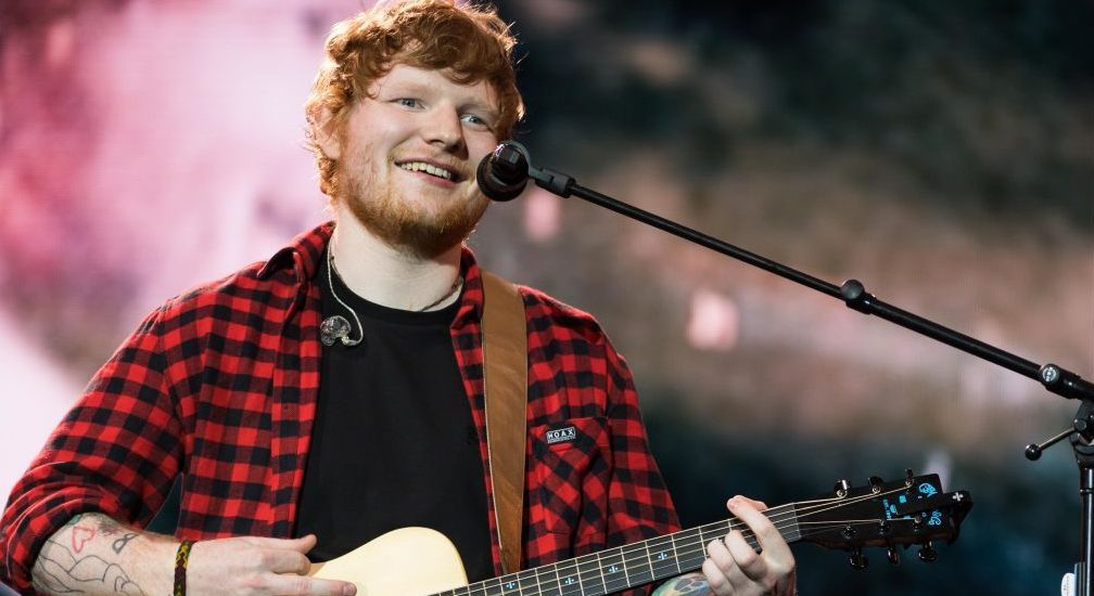 Ed Sheeran stops concert to help man propose to his girlfriend