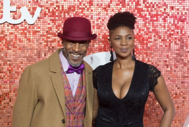 Danny John-Jules and wife Petula