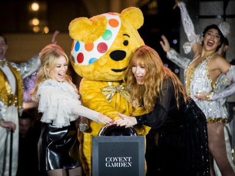 What time is Children in Need on and who are the presenters?