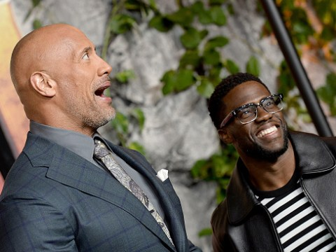 Dwayne Johnson trolls 'dumb ass' Kevin Hart on Instagram because he has zero time for spelling mistakes