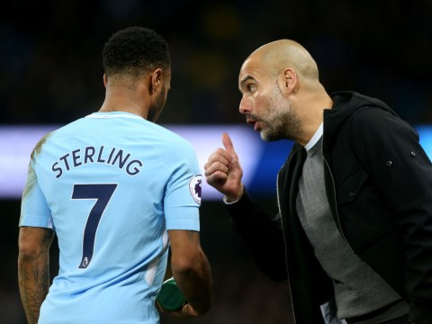 Pep Guardiola reveals why he confronted Raheem Sterling on the pitch after Manchester derby