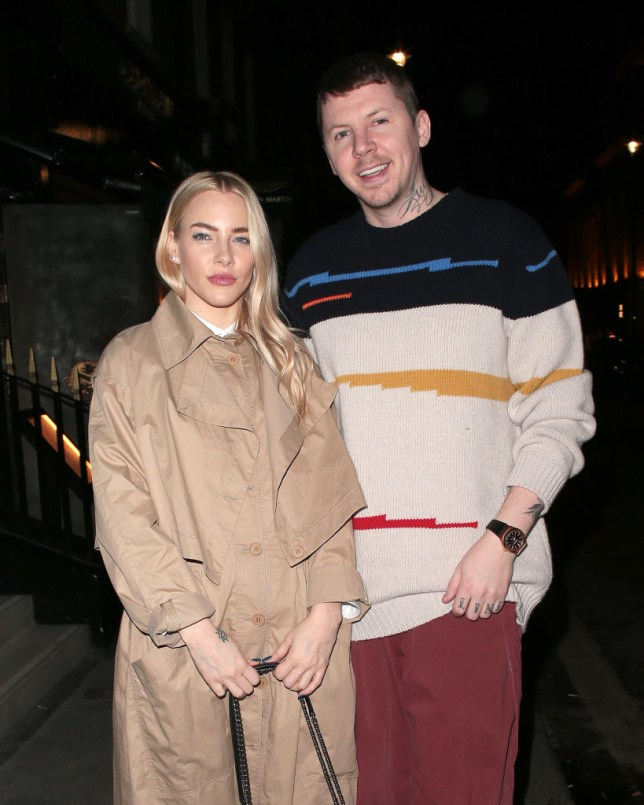 Fae Williams and Professor Green