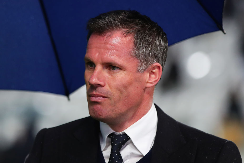 Manchester United's squad is superior to Liverpool's, admits Jamie Carragher