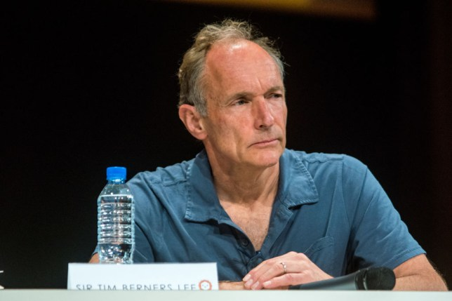 Tim Berners-Lee, inventor of the World Wide Web, wants the internet to be safe and accessible to all (Nicolas Liponne/NurPhoto via Getty Images)