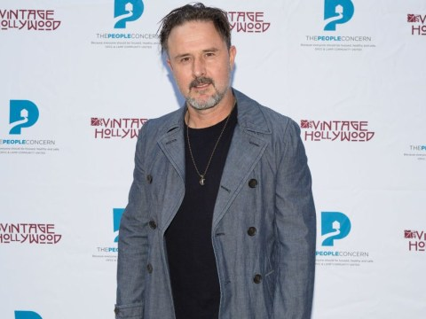 David Arquette 'lucky to be alive' after broken bulb stabs him in neck during Death Match