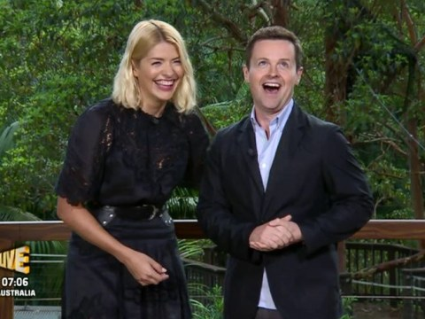 I'm a Celeb's Dec Donnelly jokes hosting with Holly Willoughby is 'like presenting with competition winner'