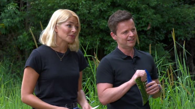I'm A Celebrity's Holly Willoughby gets telling off from Declan Donnelly for breaking 'golden rule' with kiss