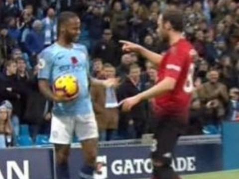 Ian Wright slams Manchester United star Juan Mata after altercation with Raheem Sterling
