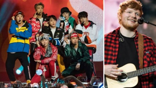 BTS Ed Sheeran collaboration could be on its way and the ARMY is