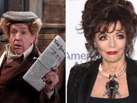 Will & Grace's Beverly Leslie was originally written for Dame Joan Collins