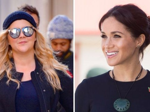 Amy Schumer isn't finding it fun being pregnant at the same time as Meghan Markle