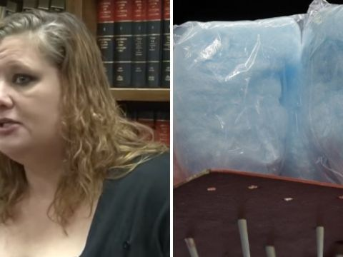 Woman spent 3 months in prison after cops mistook blue cotton candy for crystal meth