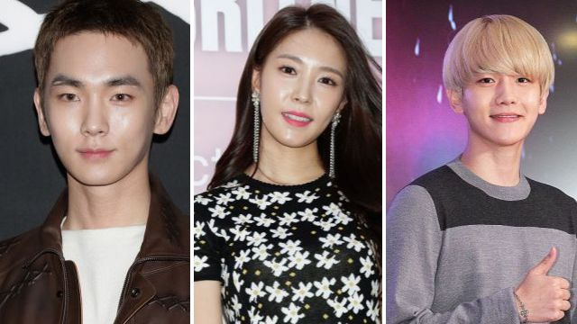 Key, BoA and Baekhyun