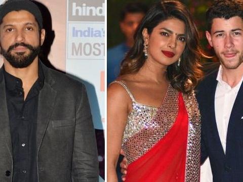 Farhan Akhtar jokes he hasn't been invited to Priyanka Chopra and Nick Jonas' wedding