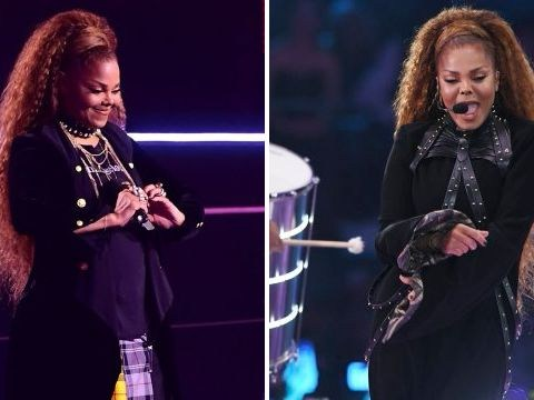 MTV EMAs: Janet Jackson delivers powerful speech on equality after barefoot performance