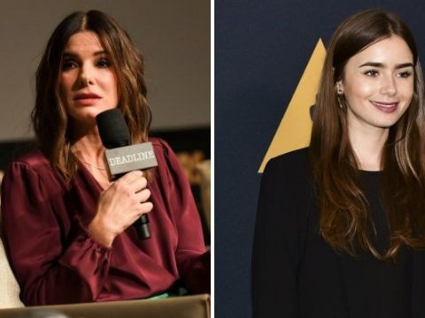 Lily Collins is super eager to star in Ocean's 9 with Sandra Bollock