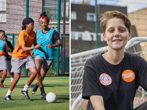 Woman kicked out after telling family she's a lesbian says football saved her life
