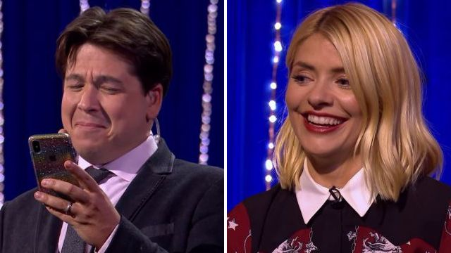 Holly Willoughby trusts Michael McIntyre with her phone for Send To All – lives to regret it immediately