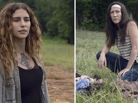 The Walking Dead's newbies confirm characters Yumiko and Magna are dating