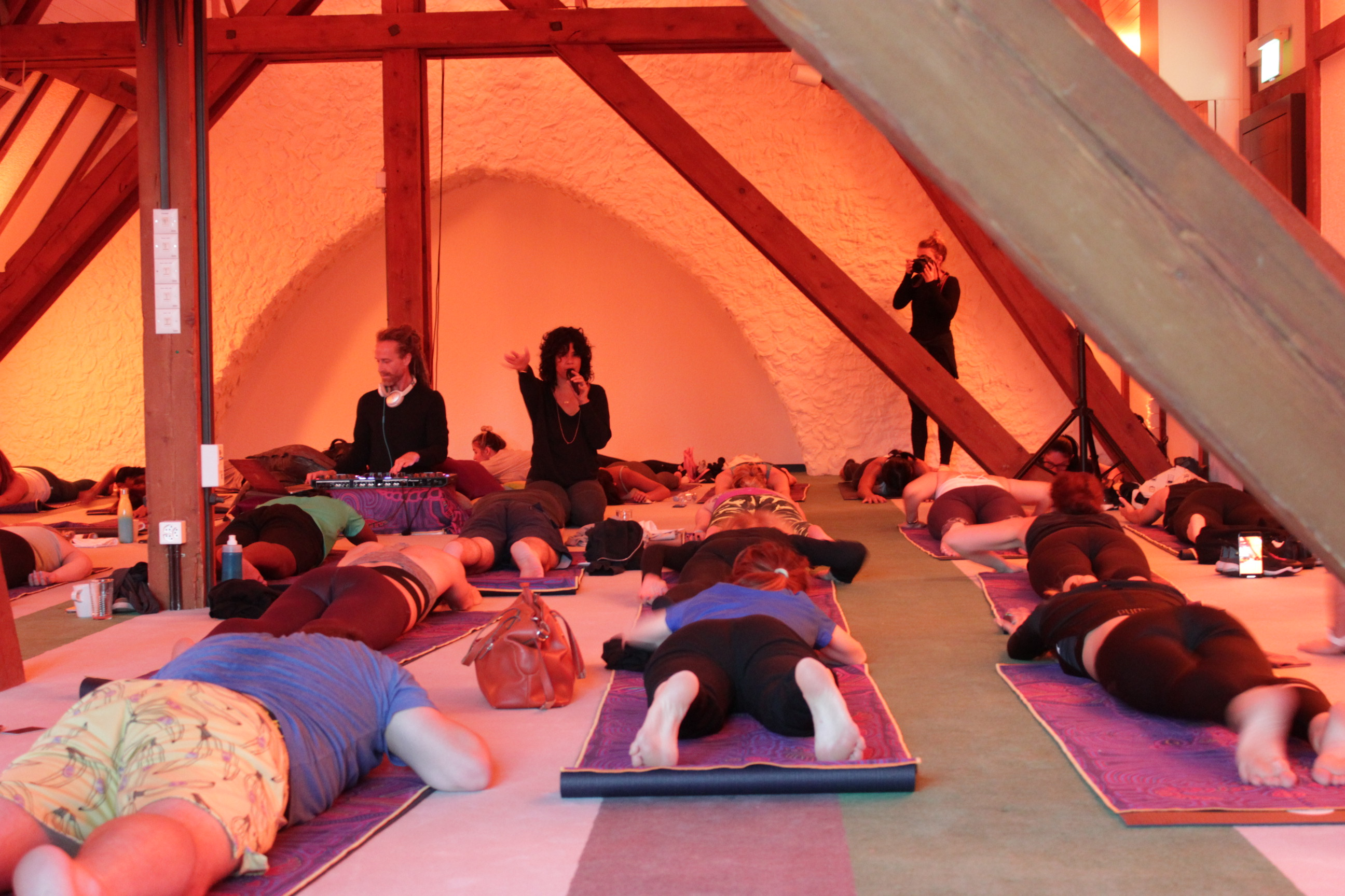 Spiritual in Switzerland: Find your inner peace with rock 'n' roll yoga in Davos