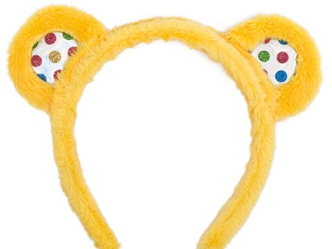 Where can I buy Pudsey ears for Children In Need 2018?