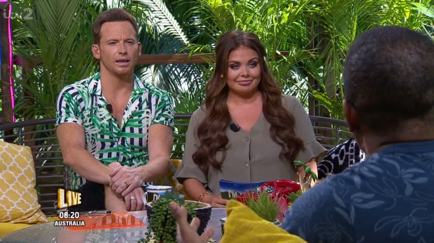 I'm A Celebrity viewers suspicious as they spot a ring on Joe Swash's left hand