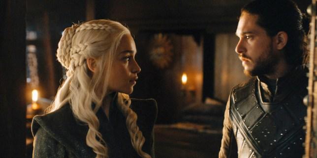 Jon Snow and Daenerys