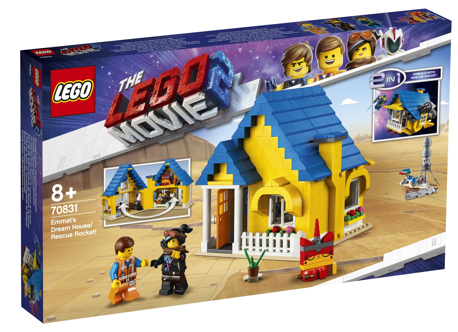 First Lego Movie 2: The Second Part toys sets revealed