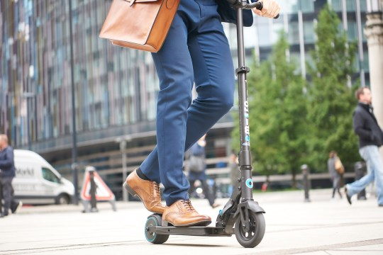 Why are electric scooters illegal in the UK? Well, it's