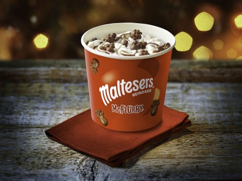 McDonald's launches Malteasers reindeer McFlurry for Christmas