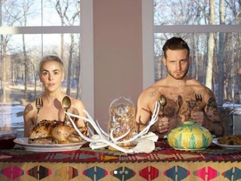 Nico Tortorella enjoys naked Thanksgiving with wife Bethany Meyers after opening up on polyamorous marriage