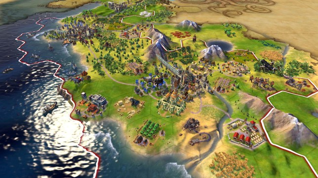Civilization VI (NS) - a thinker, not a looker