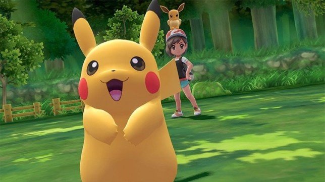 Pokémon: Let's Go, Pikachu! (NS) - not voiced by Ryan Reynolds